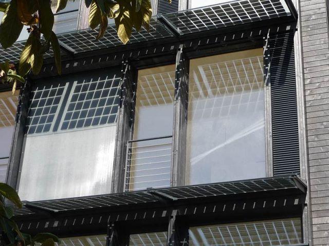 fenêtre photovoltaïque