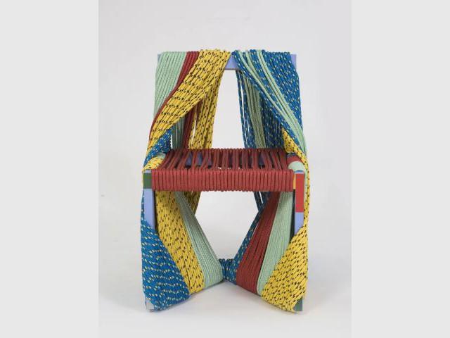 Africa chair 1/2 - Exposition  Rodrigo Almeida