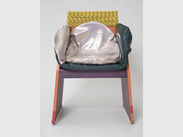 Concreta chair - Exposition  Rodrigo Almeida
