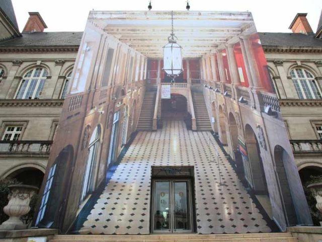 Installations photographiques monumentales - cité internationale universitaire