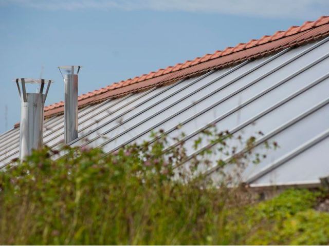 Toiture - maison Bio Solar