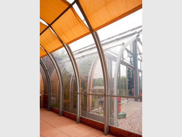 Véranda - Maison bio solar