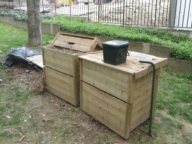 Boîtes à compost - compost