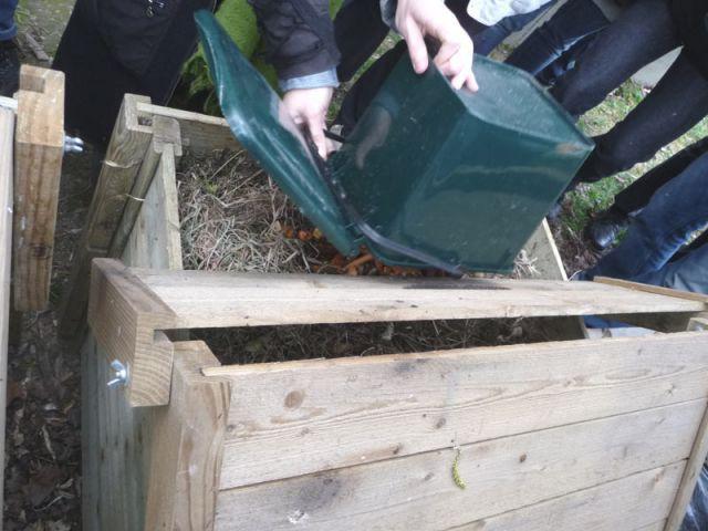 Traitement des déchets - compost