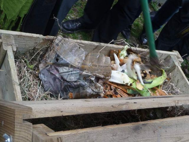 Mélanger - compost