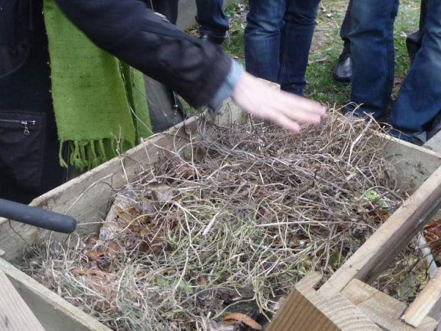 Matière sèche - compost