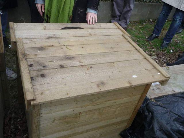 Boîte à compost - compost
