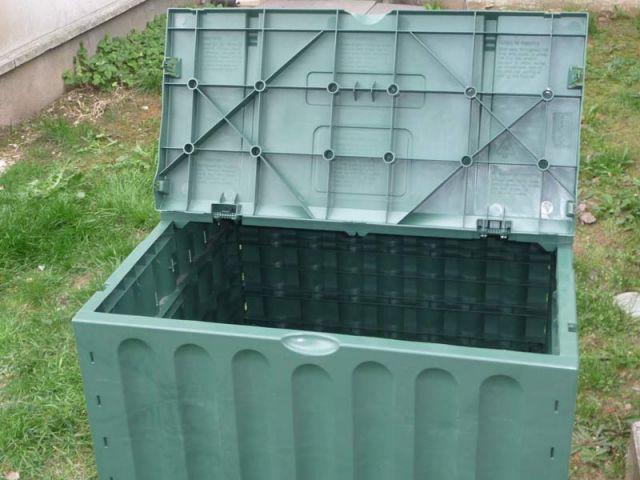 Boîte en plastique - compost