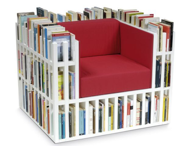 Bibliochaise - No body and Co. - rangement