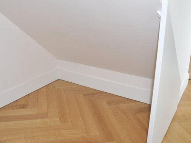 Détail avant - rangement sous escalier