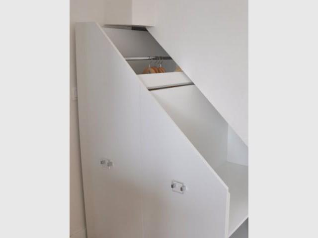Mobiles - rangement sous escalier