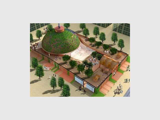 Pavillon de l'Inde