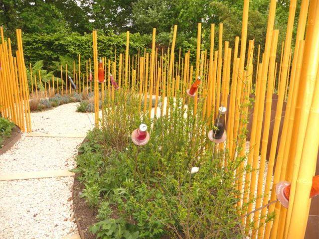 Hortithérapie sensorielle - jardin de Chaumont sur Loire