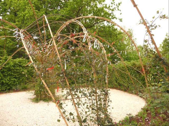 L'arbre à prières - jardin de Chaumont sur Loire