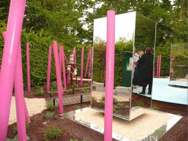 Cupidon s'en fout - jardin de Chaumont sur Loire
