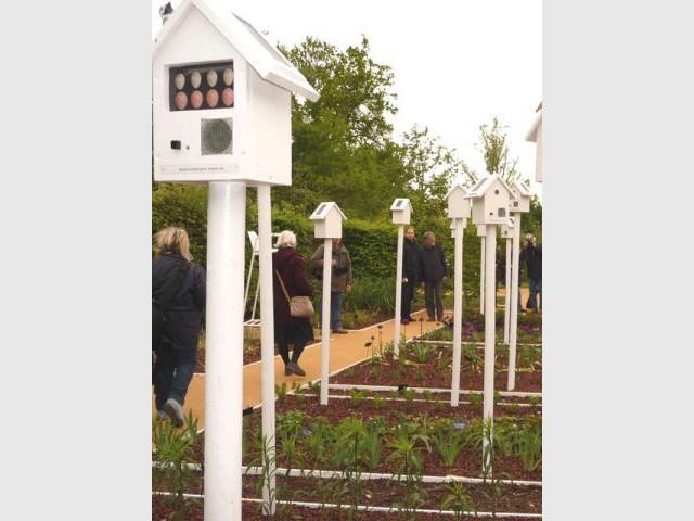 Le jardin qui chante - jardin de Chaumont sur Loire