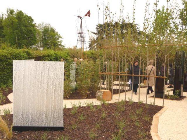 Calligrâmes - jardin de Chaumont sur Loire