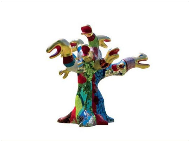 Arbre à serpents - Niki de saint phalle