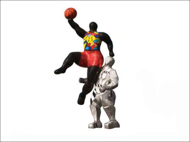 #23 Basketball Player - Niki de saint phalle