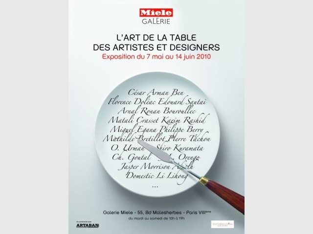 """L'Art de la table"" - Miele"