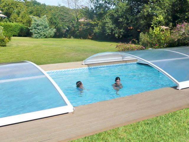 Intermédiaire coulissant - abri piscine