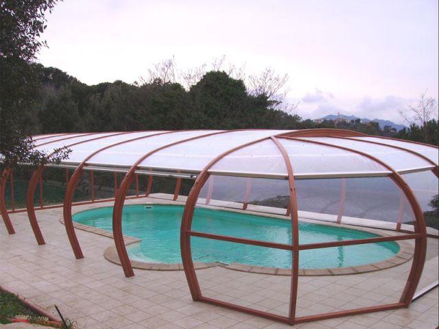 Haut rotonde - abri piscine