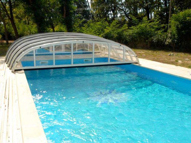 Cintré - abri piscine