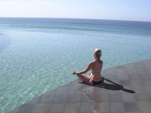 Grès 100% écologique - sol piscine