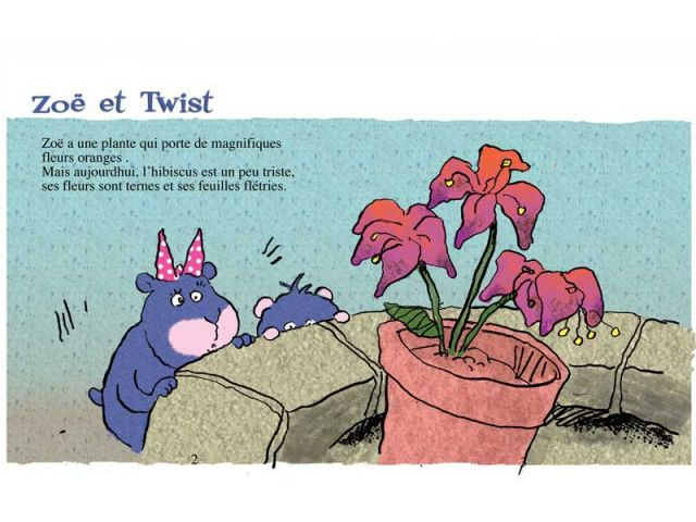 Un conte...  - Twist le Lombric, éd. Viato, 2010