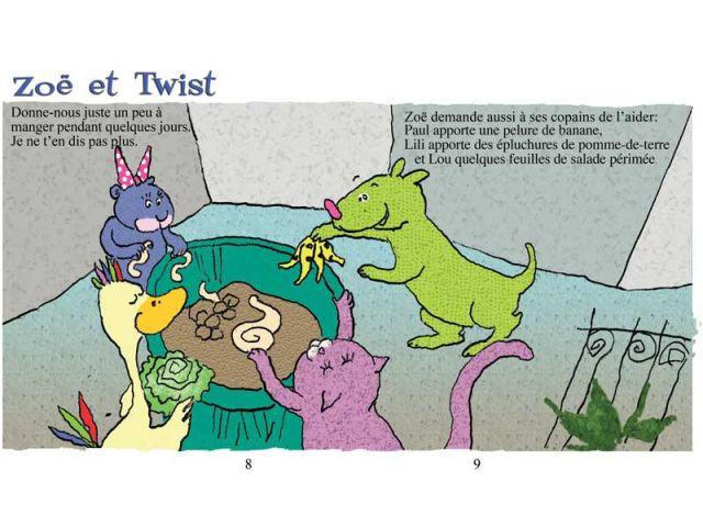 Trier - Twist le lombric, éd. Viato, 2010