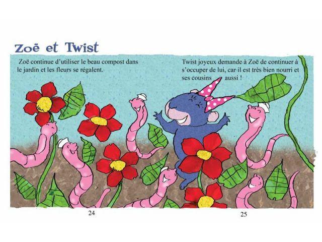 Sauvé ! - Twist le lombric, éd. Viato, 2010