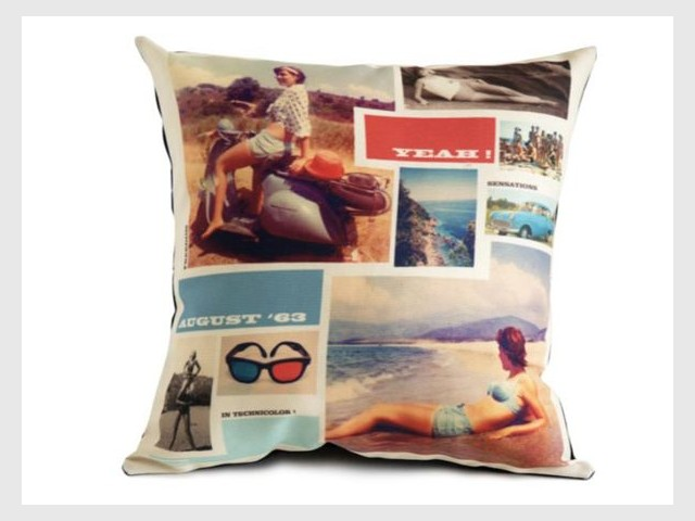 coussin pin up rétro