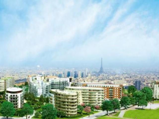 Vue sur Paris - issy