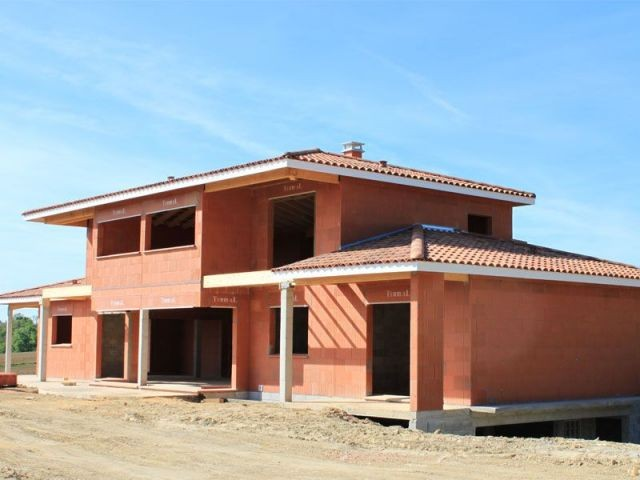 Maison en chantier - Terreal