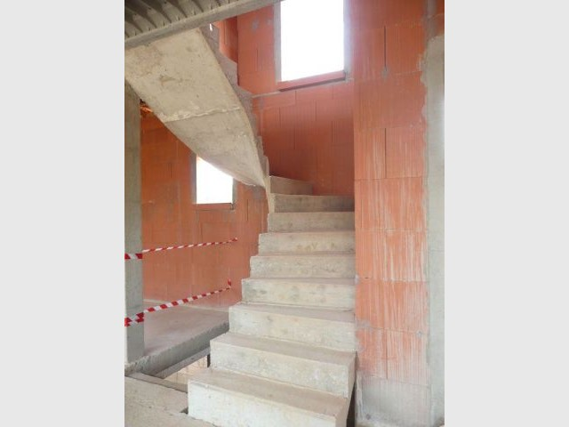Escalier - CG