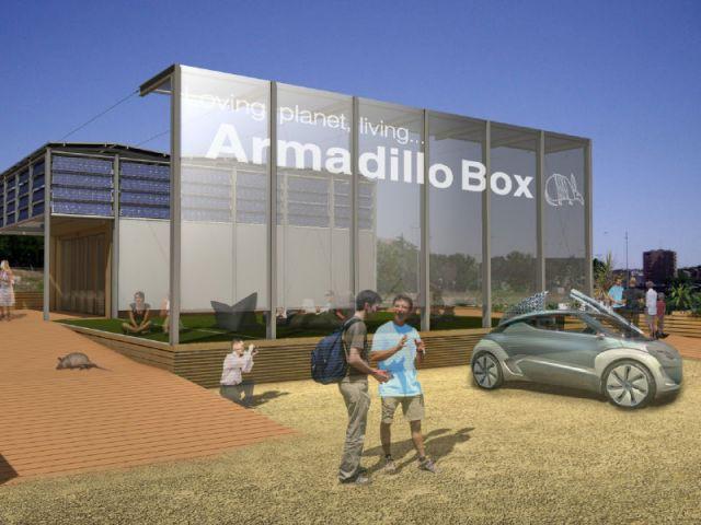 Confuguration Solar Decathlon - Armadillo Box®