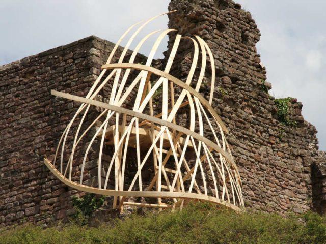Prix de la spatialité : 'Coulée-tissée' - Défis du Bois 2010 / Flora Bignon