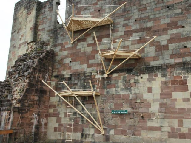 Prix de l'audace : 'Haut-stair' - Défis du Bois 2010 / Flora Bignon