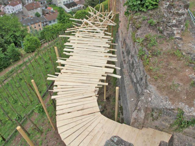 Prix du paysage : 'Passe-sage' - Défis du Bois 2010 / Flora Bignon