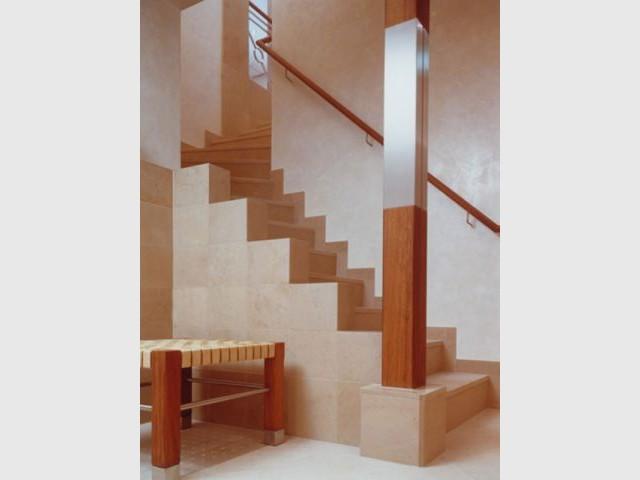 Escalier - pierre de Bourgogne