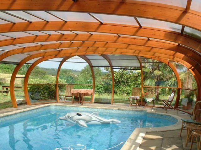 abri piscine élégance