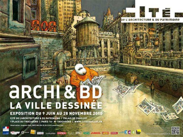 Archi et BD, La ville dessinée