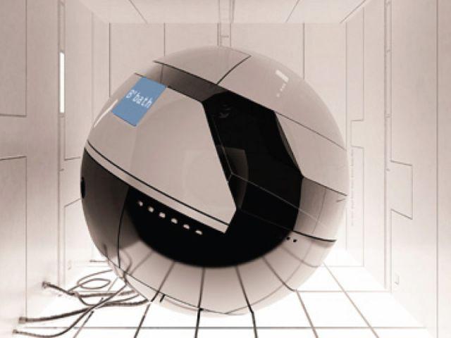 Cocoon - salle de bains futur
