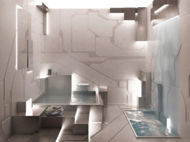 Cube et sens - salle de bains futur