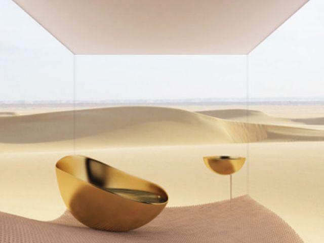 Désert liquide - salle de bains futur