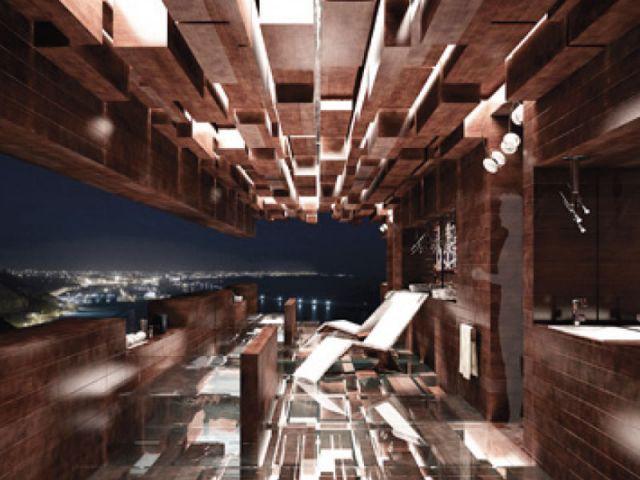 Concept urbain - salle de bains futur