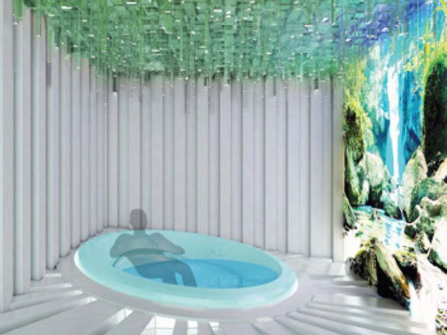 Spa solaire - salle de bains futur