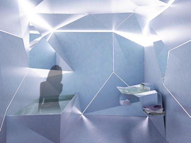 Origami - salle de bains futur