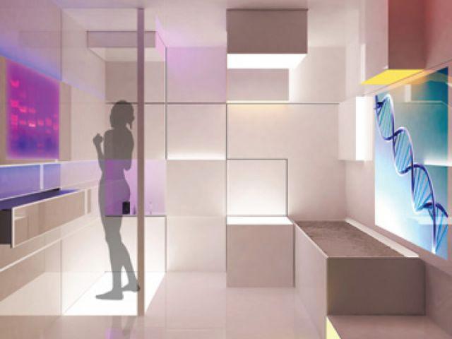 Cube de santé - salle de bains futur