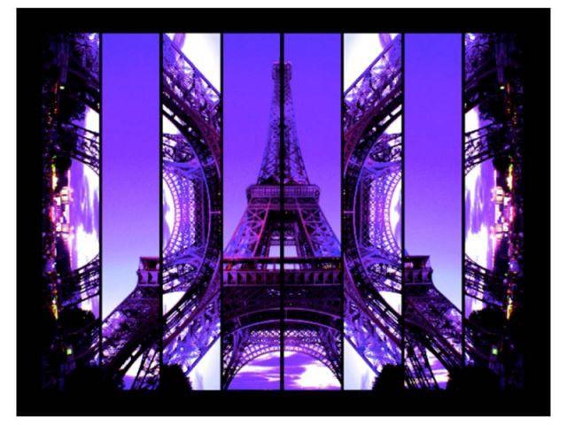 Dame violette - photographie Paris New York
